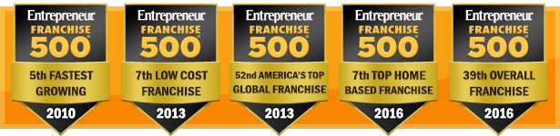 Entrepreneur Franchise 500 Top Award Winner Year After Year
