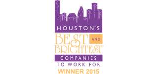 Award: Houston Best and Brightest Companies to Work For Winner 2015