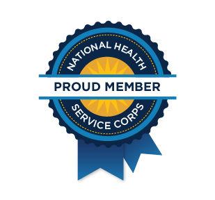 NHSC Proud Member Web Badge