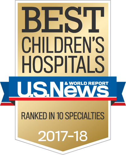U.S. News & World Report - Best Children's Hospitals 2016-2017