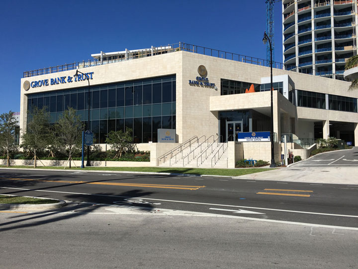 Coconut Grove Bank facility