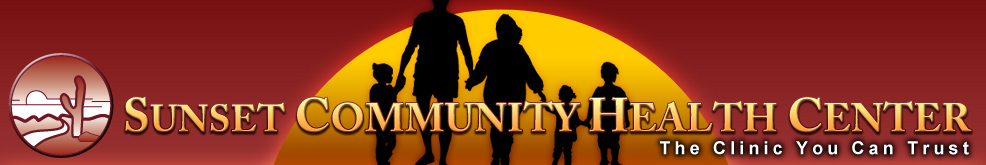 sunset community banner