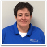 Female Trescal employee portrait