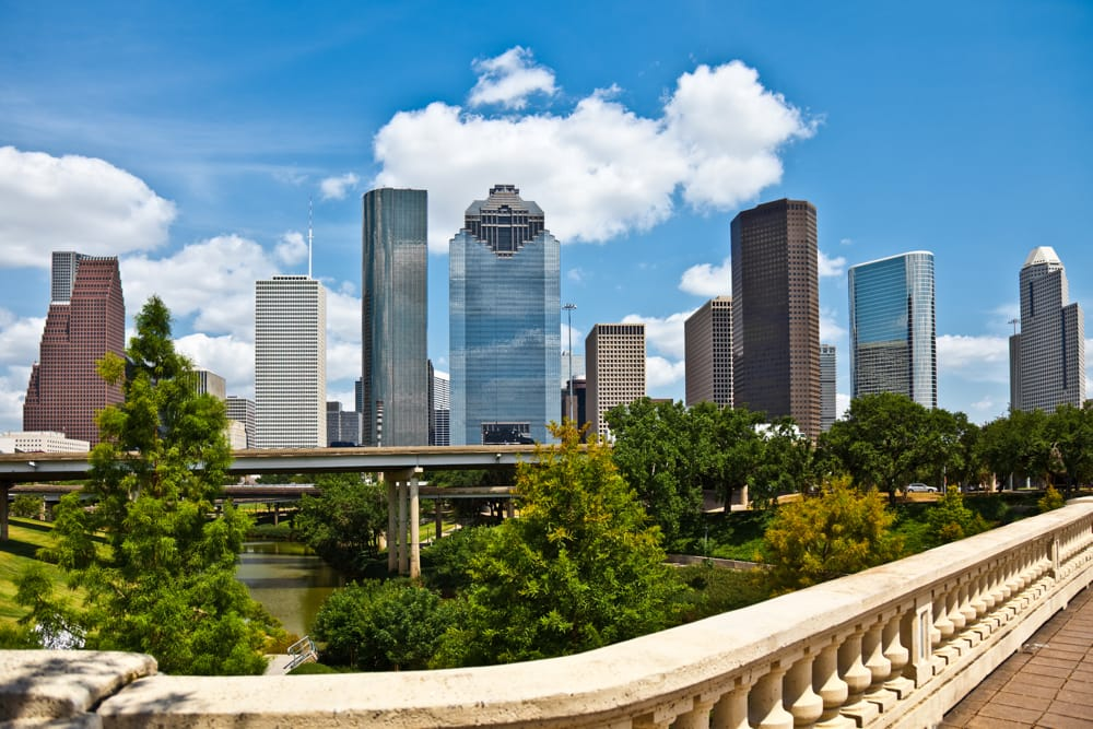 Image of Houston skyline