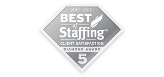 Award: Best of Staffing Client Satisfaction Diamond Award