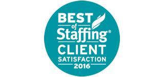 Award: Best of Staffing Client Satisfaction 2016