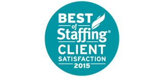 Award: Best of Staffing Client Satisfaction 2015