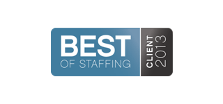 Award: Best of Staffing 2013
