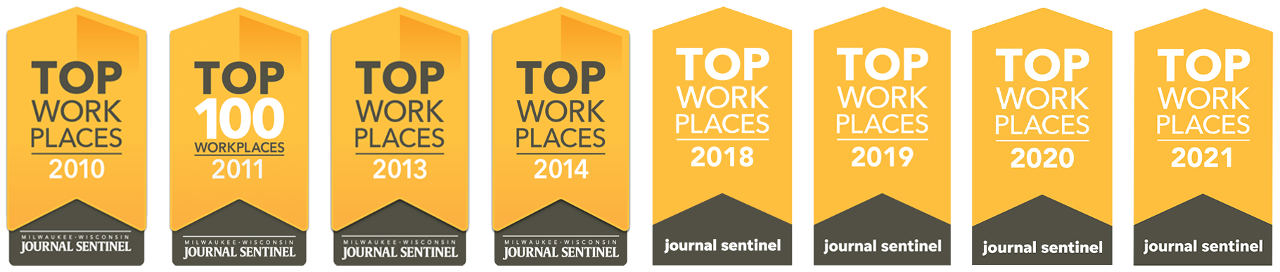 top work place awards